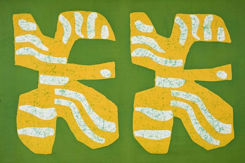 Textil, Captain Cook, 1968. Borås Cotton