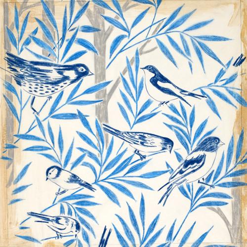 Skiss Fåglar