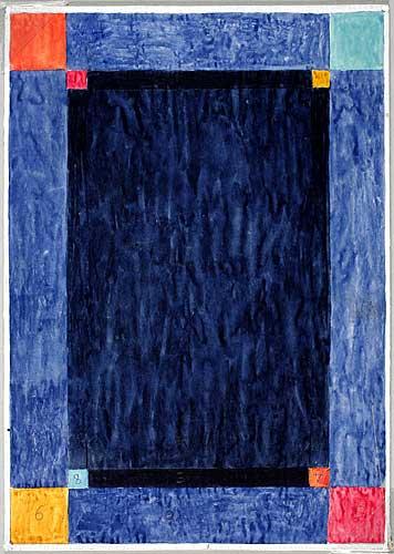 Skiss matta, All Blues, 1985, Kinnasand