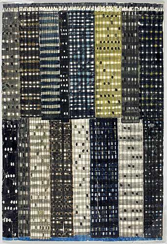 Skiss draperi, Manhattan,1953