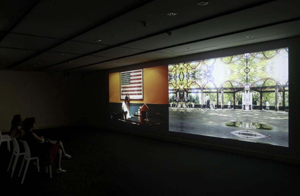 Installation view / *Candy Factory Projects in Rome / Auditorium Parco della Musica Rome (2012)