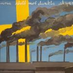 Nordström/Zadig, Flamma Stolt Mot Dunkla..., olja på duk, 1970-1972, 64x90 cm. Foto: Emelie Carlén