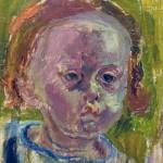 Vera Nilsson, Ginga, olja på duk