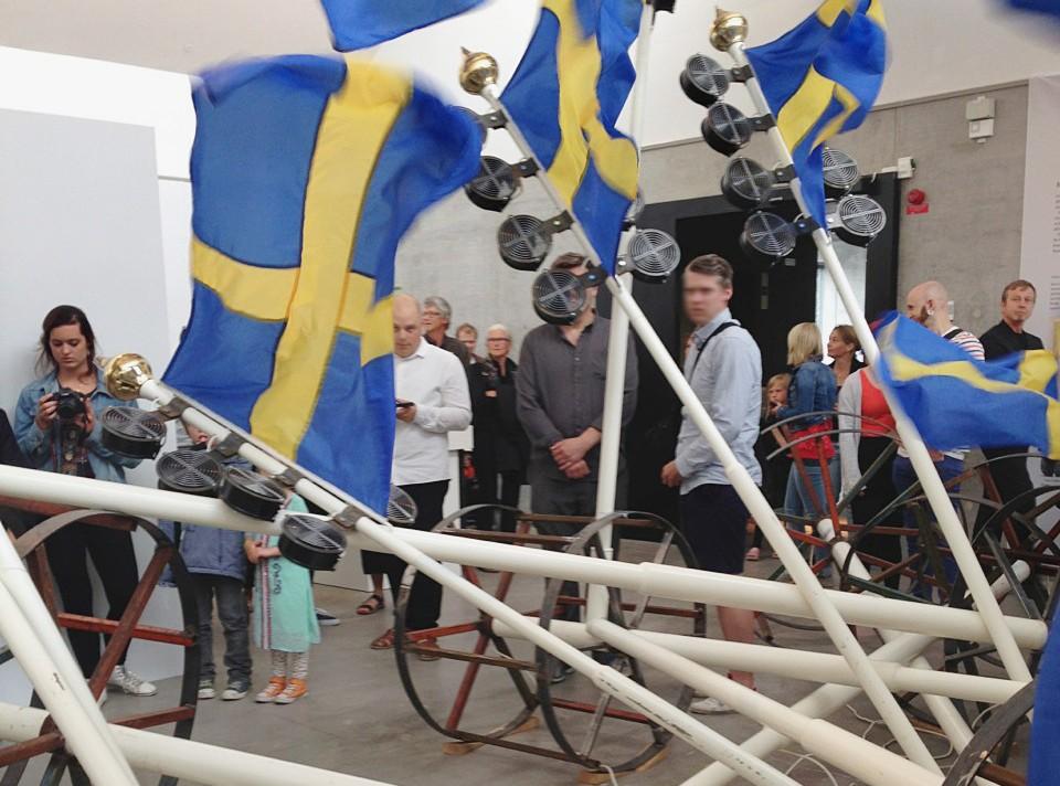Från utställningen Suecia Contemporare på Kalmar konstmuseum