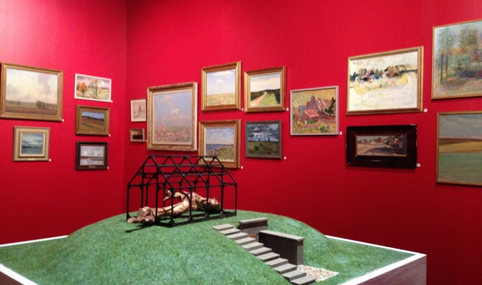 Utställning med landskap från samlingarna