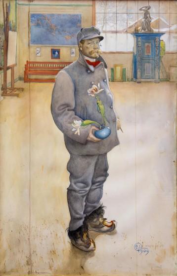 Carl Larsson, Blomstervännen 1909