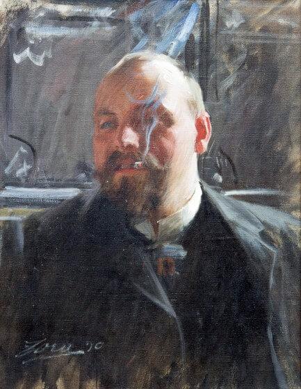Anders Zorn, J.C. Janzon-Spada 1890