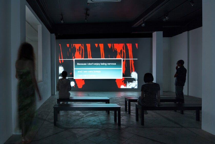 Installation view / A *CandyFactory Project i_information / Kitakyushu Biennial in Singapore 2013