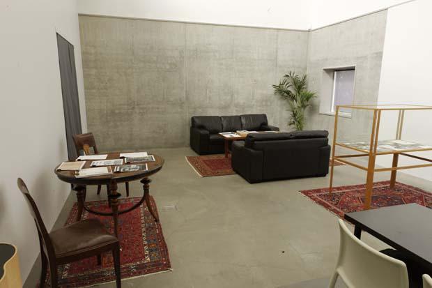 Kalmar konstmuseums nya lounge, plan 4. Ett rum för vila, läsning och samtal. Foto: Per Larsson.