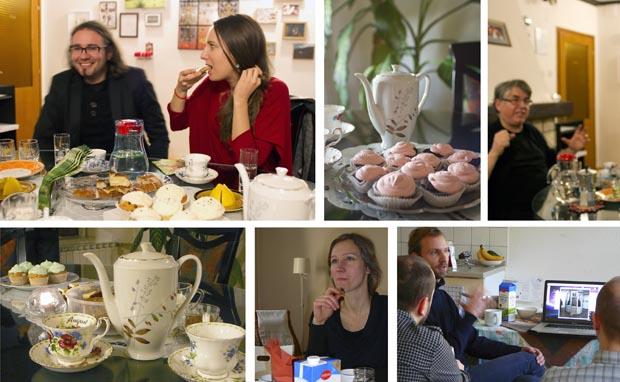 Nina Slejko, Conny Blom: Conceptual Art Cente Bukovje, Teatime serien - Curator's/Artist's talk. Dokumentation, 2010, 2011