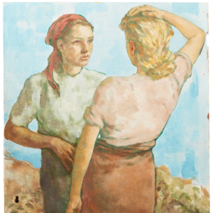Lotte Laserstein, Sommaridyll (detalj)