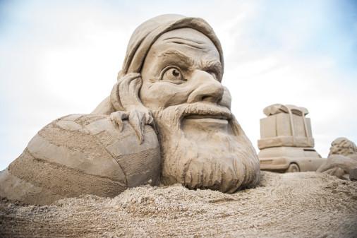 Sandskulpturfestival 2017