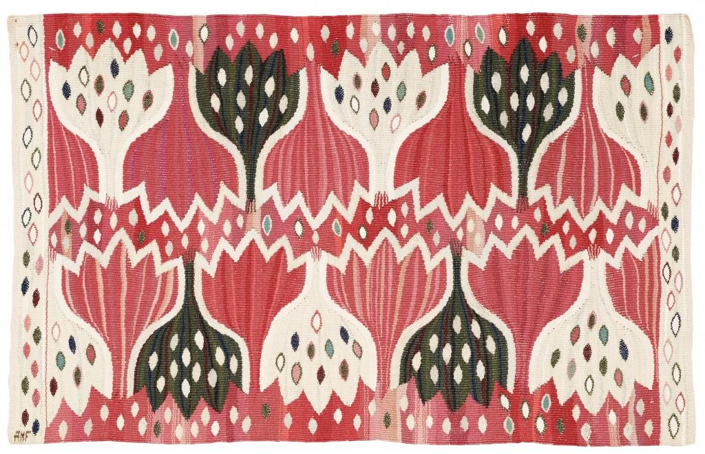 Textil Röd Crocus