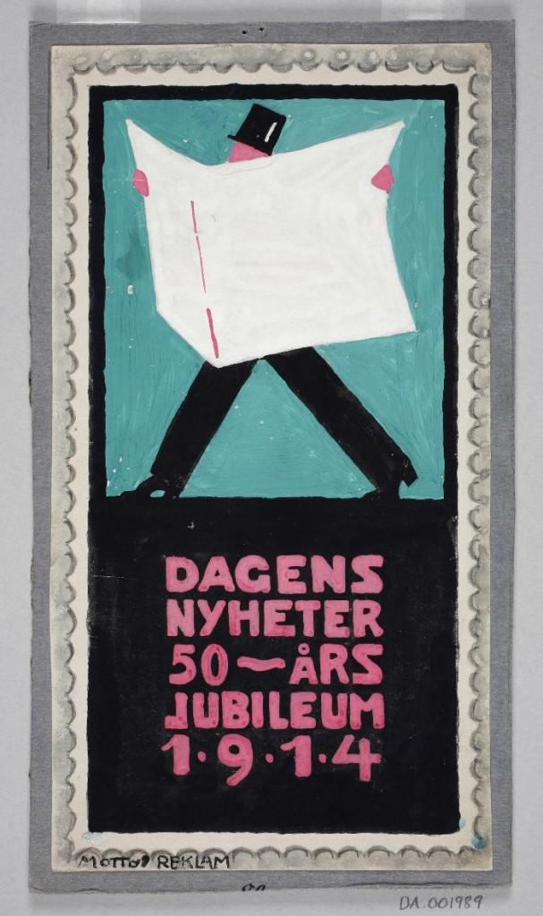 Affisch, Wilhelm Kåge