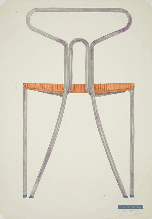 Ritning Valencia II stol, 1972