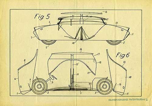 Skiss bil, 1955