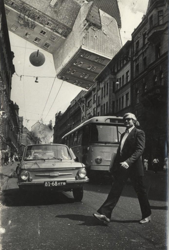Emissionists group,Bizarred Riga, 1978, Digital prints from photomontage