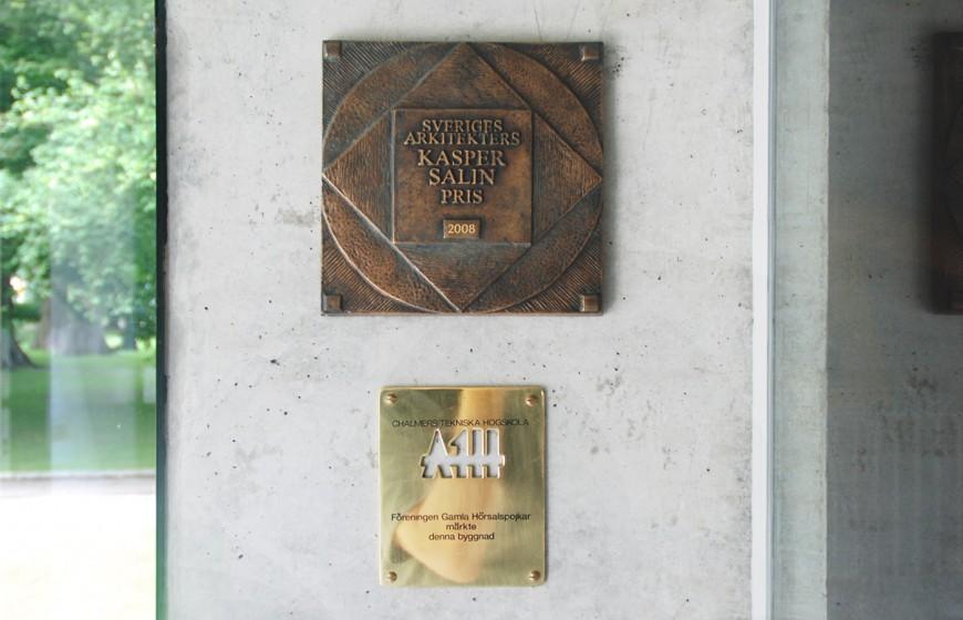 Plakett Salinpriset Kalmar konstmuseum