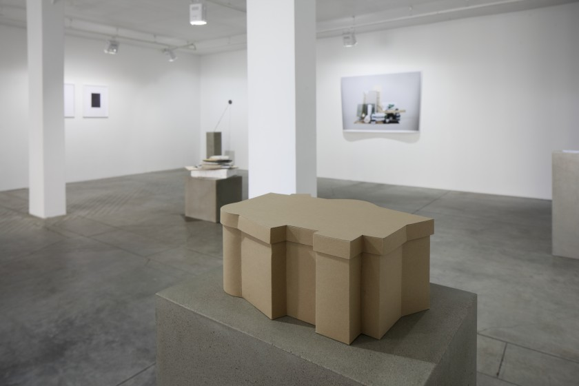 Daria Melnikova, The Box, 2011, Cardboard, glue, 25x40x17, foto: Ansis Stark
