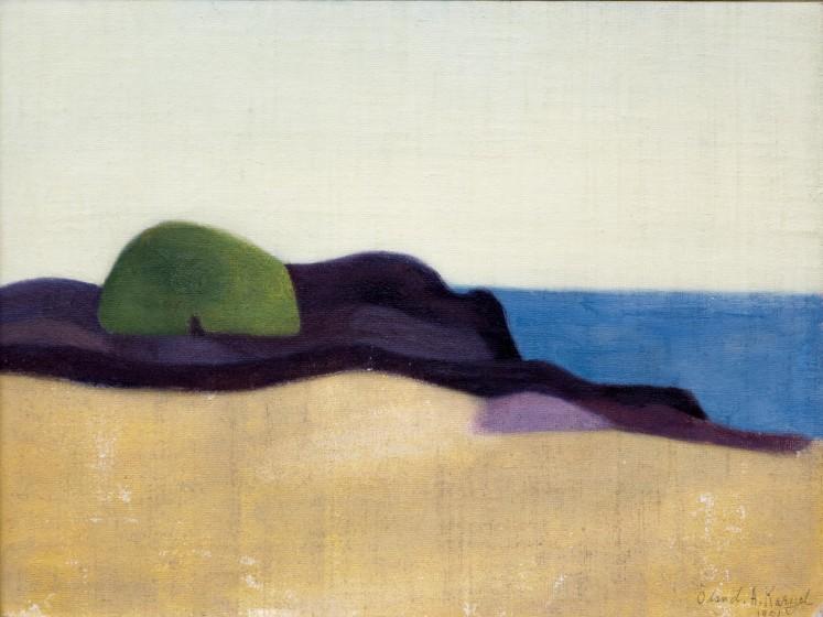 Axel Kargel, Motljus vid havet 1951