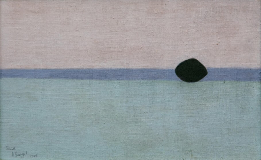 Axel Kargel, Fält mot havet 1959