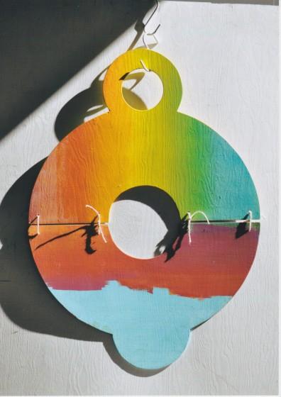 Eno Hallek, Portable Sunset, interaktiv installation, 1990-2005