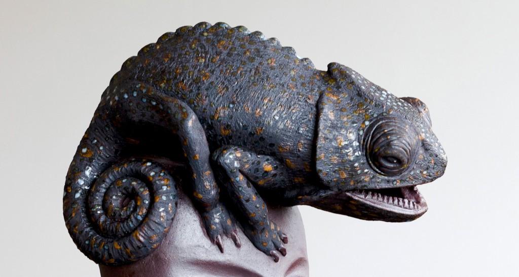 Chameleon, detalj, VÄX!, Anabelí Díaz