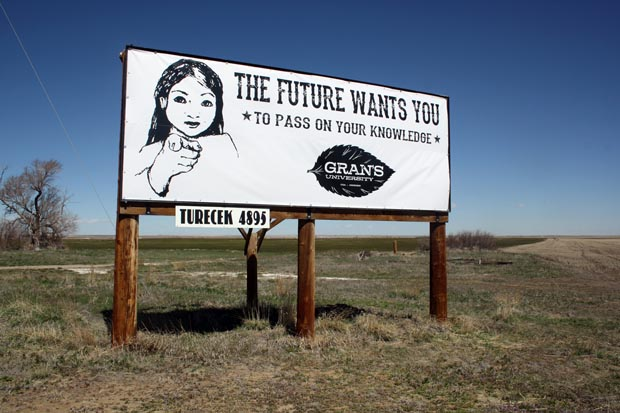 Kultivator billboard Colorado