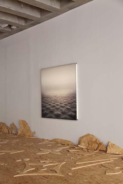 Estetiken - installationsbild, detalj. Foto: Hans Jörgen Johansen