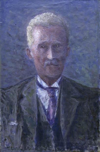Per Ekström, Självporträtt, 1930. Foto: Per Larsson