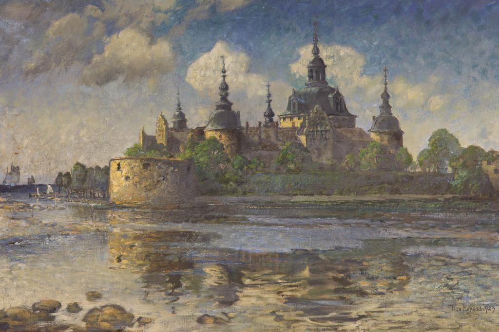 Kalmar Slott, 1923