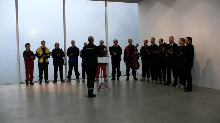 Dokumentation från vernissagen på Kalmar Konstmuseum