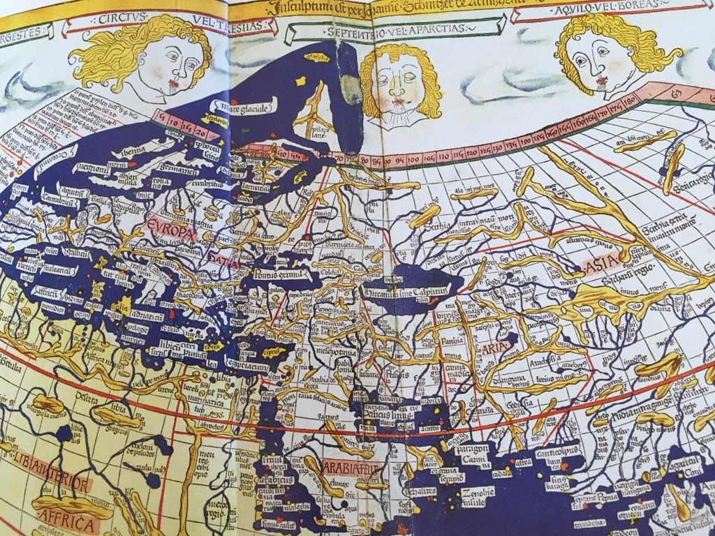 Ptolemaios Varldskarta 1486