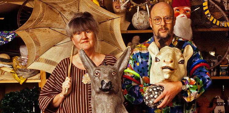 Gunilla Skyttla och Raine Navin, porträtt