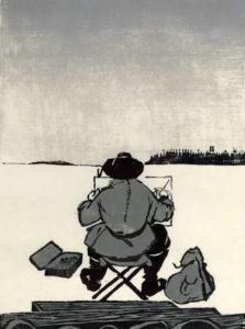 Torbjörn Zetterholm, Vintertecknare, träsnitt