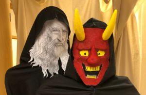 Två masker