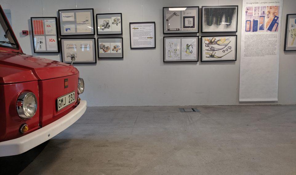 Pukebergs utställningshall
