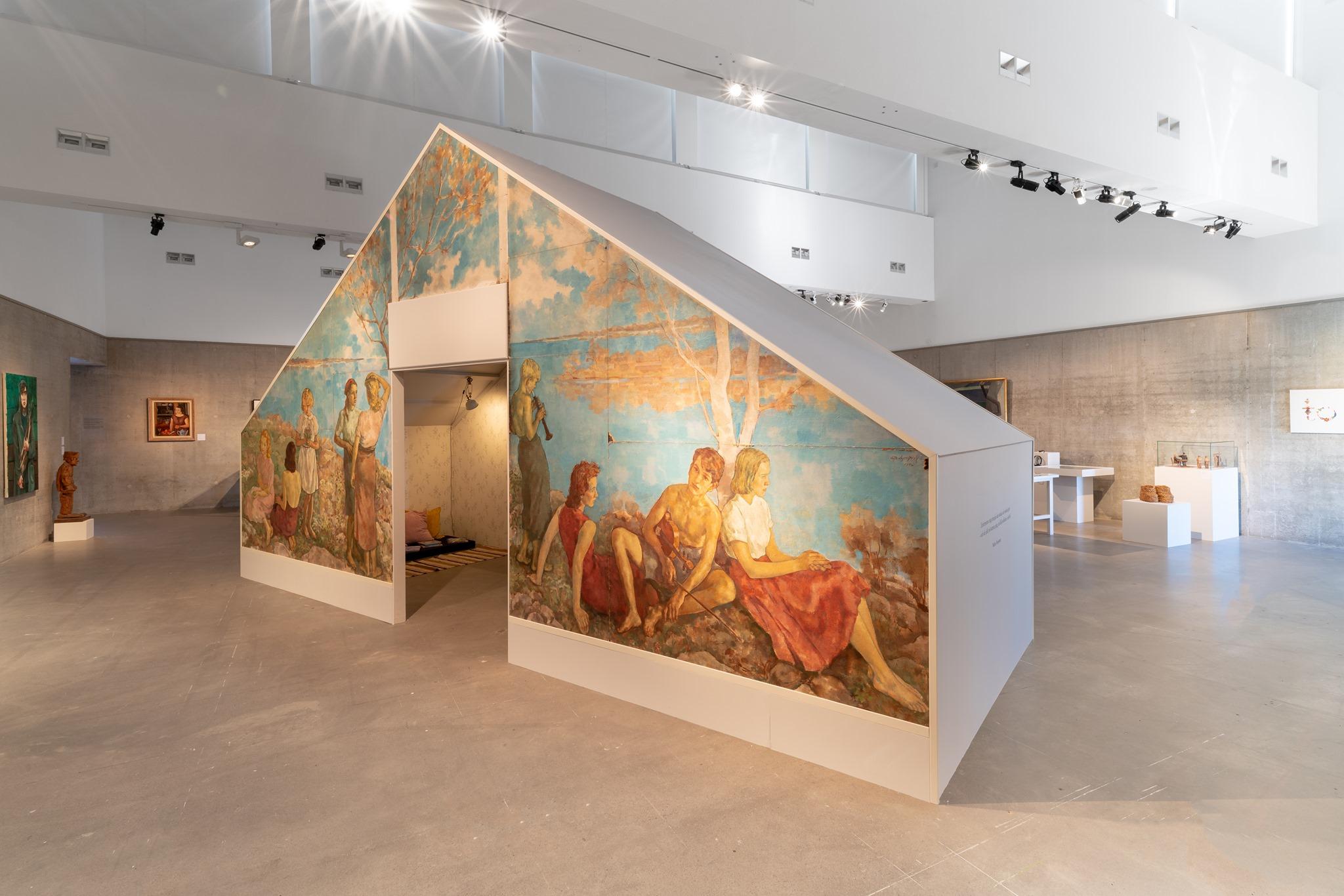 Lotte Lasersteins Sommaridyll i utställning