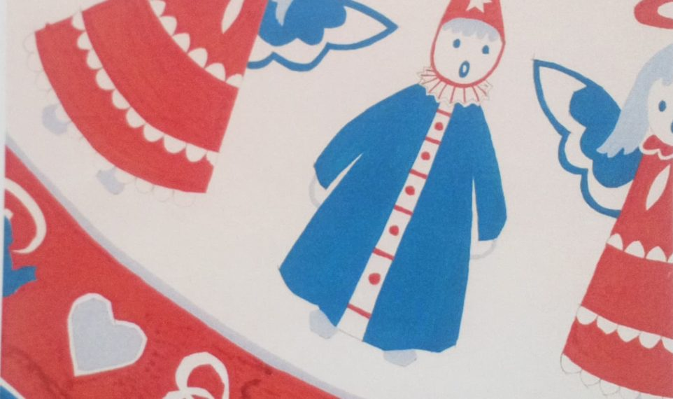 Julmotiv av Brit Bredström