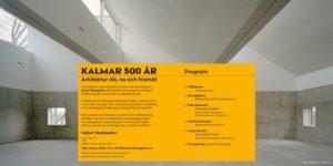 Inbjudan Arkitekturkväll 2020-02-12