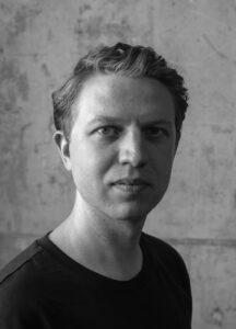 Porträtt av fotografen Emanuel Cederqvist